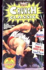 WWF Crunch Classic SEALED Coliseum Video In Box WWE WWF WCW ECW TNA