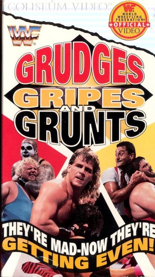 WWF Grudges Gripes Grunts Coliseum Video SEALED WWE WWF WCW ECW TNA