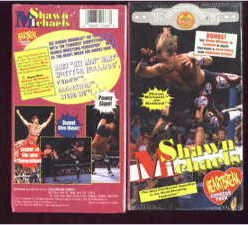 WWF HBK Shawn Michaels Tour Video SEALED WWE Bret Hart Sid WWF WCW ECW TNA