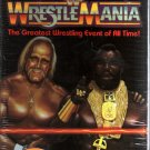 WWF High of WrestleMania 1 SEALED Coliseum Video WWE WWF WCW ECW TNA