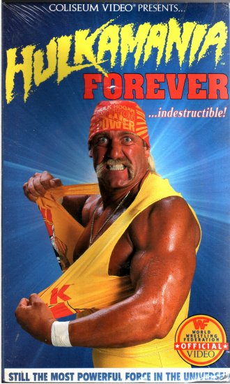 WWF Hulkamania Forever SEALED Coliseum Video In Box WWE WWF WCW ECW TNA