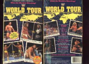 WWF World Tour 1990 Coliseum Video SEALED WWE Hulk Hogan HBK WWF WCW ECW TNA