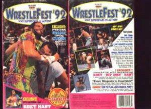 WWF WrestleFest 1992 Coliseum Video SEALED WWE Savage WWF WCW ECW TNA WWE