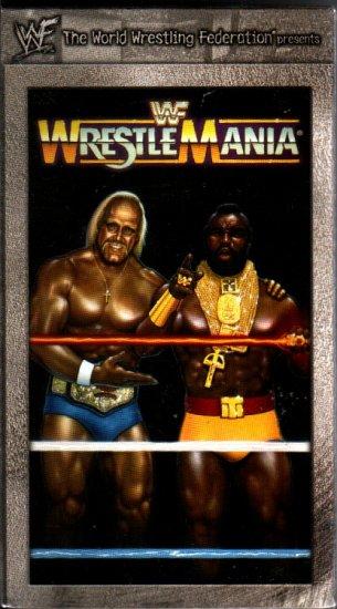 WWF WrestleMania 1 1985 Video SEALED WWE Hulk Hogan Roddy Piper WWF WCW ECW TNA WWE