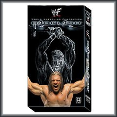WWF Backlash 2001 Video SEALED WWE Triple H Steve Austin WWF WCW ECW TNA WWE