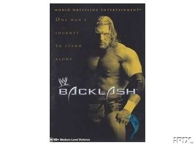 WWF Backlash 2002 Video SEALED WWE Triple H Hulk Hogan WWF WCW ECW TNA WWE