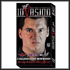 WWF Invasion 2001 Video SEALED Alliance vs WWE Rock Y2J WWF WCW ECW TNA WWE