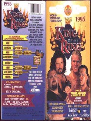 WWF King of the Ring 1995 Video SEALED WWE Diesel Sid WWF WCW ECW TNA WWE
