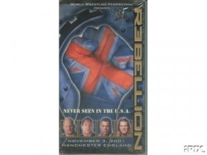 WWF Rebellion 2001 Video SEALED WWE Rock Steve Austin WWF WCW ECW TNA WWE
