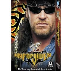 WWF Unforgiven 2000 Video SEALED WWE Rock Chris Benoit WWF WCW ECW TNA WWE