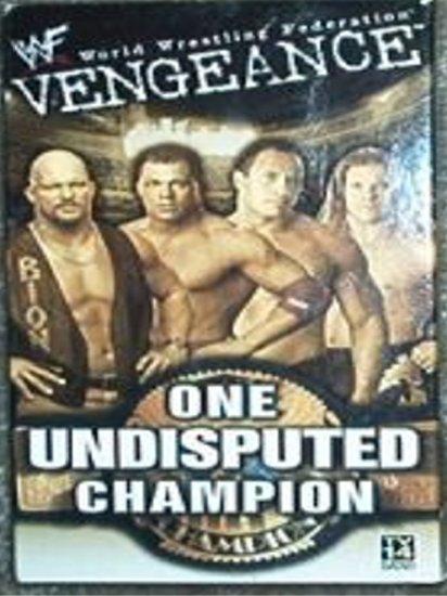 WWF Vengeance 2001 Video SEALED WWE Jericho Austin Rock WWF WCW ECW TNA WWE