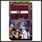 WWF Best of Raw Vol. 2 Video SEALED WWE 1998-1999 WWF WCW ECW TNA WWE