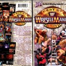 WWF Best of WrestleMania 1-14 Video SEALED WWE Hulk Hogan Shawn Michaels HBK WWF WCW ECW TNA WWE