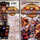 WWF Best of WrestleMania 1-14 Video SEALED WWE Hulk Hogan Shawn Michaels HBK WWF WCW ECW TNA WWE