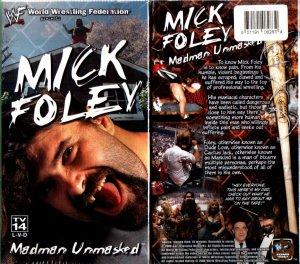 WWF Mick Foley Madman Unmasked Video SEALED WWE Mankind WWF WCW ECW TNA WWE