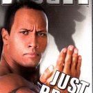 WWF The Rock Bring It Video SEALED WWE 2000-2001 WWF WCW ECW TNA WWE