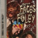 WWF Three Faces of Mick Foley Video SEALED WWE Mankind WWF WCW ECW TNA WWE