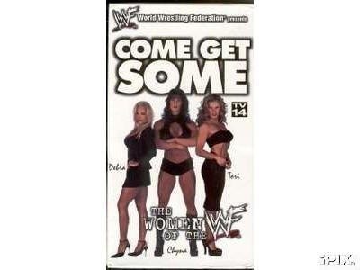 WWF Women Come Get Some Video SEALED WWE Chyna Tori Terri Debra WWF WCW ECW TNA WWE