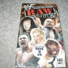 WWF WWE Raw Attitude Vol. 2 Video SEALED In Box Steve Austin WWF WCW ECW TNA WWE
