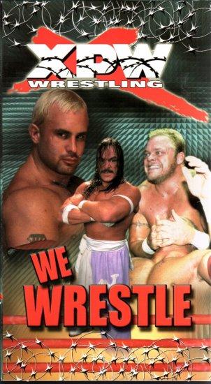 XPW We Wrestle Video SEALED In Box WWF WWE Candido WWF WCW ECW TNA WWE