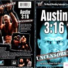 WWF Austin 3:16 Uncensored Video In Box WWE Stone Cold WWF WCW ECW TNA WWE
