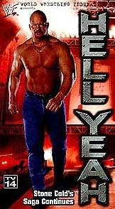 WWF Stone Cold Steve Austin Hell Yeah Video In Box WWE WWF WCW ECW TNA WWE
