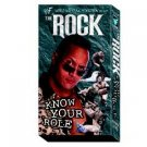 WWF Rock Know Your Role Video In Box WWE 1998-1999 WWF WCW ECW TNA WWE