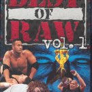 WWF Best of Raw Vol. 1 1997-1998 Video In Box WWE DX Stone Cold Rock WWF WCW ECW TNA WWE