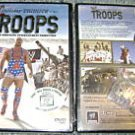 WWE WWF Holiday Tribute Troops DVD SEALED USA Dog Tag WWF WCW ECW TNA WWE