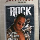 WWF The Rock Know Your Role DVD SEALED WWE Attitude Collection WWF WCW ECW TNA WWE