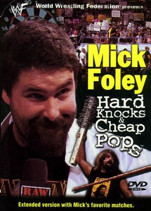 WWF Mick Foley Hard Knocks Cheap Pop DVD SEALED WWE WWF WCW ECW TNA WWE