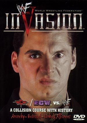 WWF Invasion 2001 DVD WWE vs ECW WCW Alliance SEALED WWF WCW ECW TNA WWE