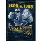 WWE WWF WrestleMania 18 2002 DVD SEALED Rock Hogan WWF WCW ECW TNA WWE