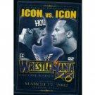 WWE WWF WrestleMania 18 2002 DVD SEALED Rock Hogan WWF WCW ECW TNA WWE