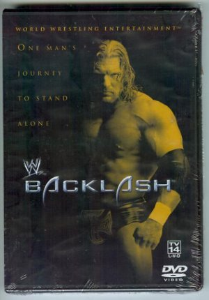 WWE WWF Backlash 2002 DVD SEALED Triple H vs Hulk Hogan WWF WCW ECW TNA WWE