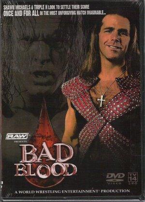 WWE WWF Bad Blood 2004 DVD SEALED Hell Cell Triple H Shawn Michaels WWF WCW ECW TNA WWE