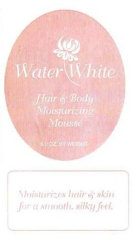 Water White  * Hair & Body Mousse