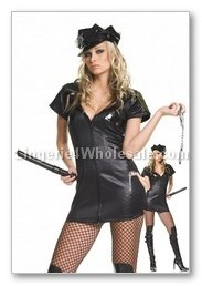 4 Pc.Officer Costume