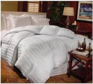 Milano white King Down Comforter