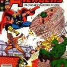 Marvel Comics THE AVENGERS 222 Jim Shooter Greg LaRocque Brett Breeding MASTERS OF EVIL