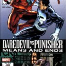 Marvel Comics DAREDEVIL VS. PUNISHER Means and Ends 1 - 6 David Lapham