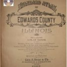 Edwards Co. Illinois 1907 Atlas