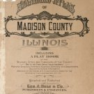 Madison Co. Illinois 1906 Atlas Genealogy