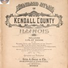Kendall Co. Illinois 1903 Atlas Genealogy