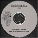 Plat Book Iroquois County Illinois 1928 Genealogy