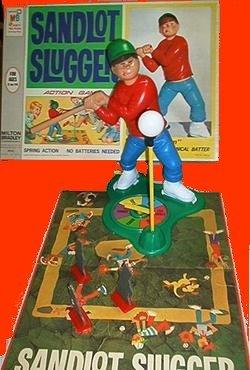 SANDLOT wind up SLUGGER sand lot BASEBALL vintage GAME
