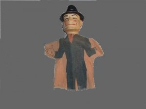 DICK wrist doll y TRACY costume OLD communicator PUPPET