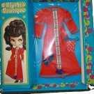 BLYTHE kenner DOLL boutique VINTAGE roaring 1972 red OUTFIT playset IN original PACKAGE