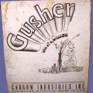 GUSHER carrom VINTAGE field OIL rig well drilling? GAME