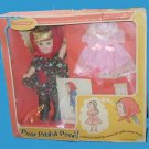 POOR vintage PITIFUL horsman PEARL dress set box DOLL in original PACKAGE